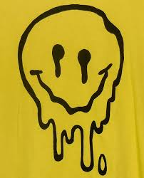 Melting happy face